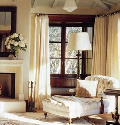looking for the perfect flowing drape to achieve that wispy fly away casual elegance for the living room.