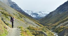 Direction Las Torres, Torres del Paine