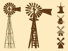 I haven't been in the farm to look at the design Snowball was said to have designed but I believe this is what Snowball designed Cowboy Crafts, Old Windmills, Silhouette Vector, Cricut Vinyl, Art Images, Bing Images, Silhouette Projects, Digital Stamps, Vector Art