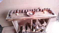 Indoor log store