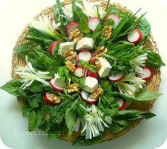 Turmeric and Saffron: Sabzi Khordan: Persian Assortment of Fresh Herbs