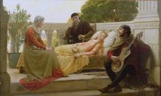 E.B. Leighton / How Liza Loved The King. 1890