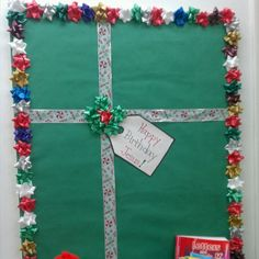 Present for Jesus bulletin board - Christmas