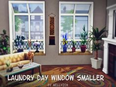 Laundry Day Windows smaller - The Sims 4 Download - SimsDom