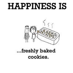 Happiness #103: Happiness is freshly baked cookies.