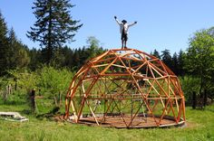 How To Build A Geodesic Dome - Model | Geodesic Greenhouse.org