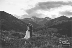 Mountaintop Wedding In Washington State Image By Hartman Outdoor Photography