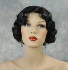 Pleasing Style A 1930S Finger Wave Hairstyle Hairstyles Style And Hairstyles For Men Maxibearus