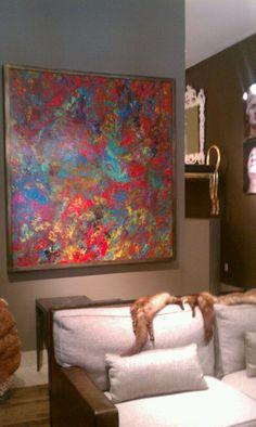 """Orbedonna original """"Carnivale"""" in Cory Pope showroom Dallas"""
