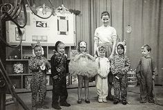 Vintage Halloween Photograph ~ A Romper Room Halloween ©October 31, 1958...