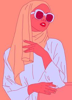 ciaramakesthings: She is a daughter a mother a sister a.: ciaramakesthings: She is a daughter a mother a sister a friend. She is not a terrorist. Say no to Trumps muslim ban. Hijab Anime, Anime Muslim, Art Sketches, Art Drawings, Character Art, Character Design, Hijab Drawing, Hijab Cartoon, Black Girl Art