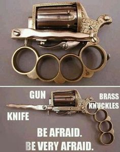 Zombie Apocalypse Weapons- Not sure I want to get close enough to one in order to use this:)