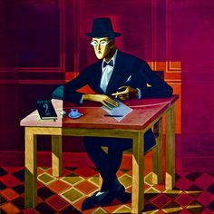 Autoría. Nos parece adecuada la imagen escogida ya que representa al hombre como autor de los libros que se encuentran sobre la mesa o del papel que se dispone a escribir. #IyTIC3 #interroganteseducativos