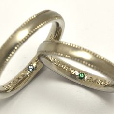 ordermade-ring,  white-gold,with aquamarine & emerald  http://www.concept-jw.jp/works_mar/works_marriage_51.html