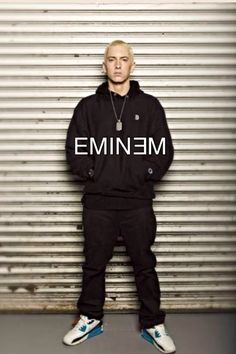 Then, we decided to follow the example of Eminem by listening to his lyrics.