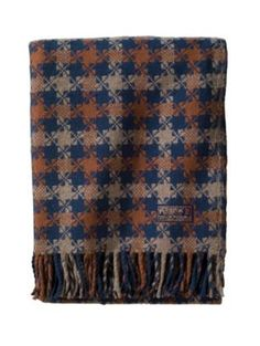 Pendleton Woolen Mills: THOMAS KAY HOUNDSTOOTH THROW