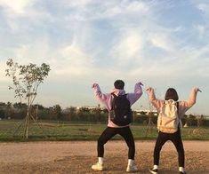 ❝ I fucked, Min Yoongi, holy shit. ❞ M/n L/n, He's a famous dancer, … Boy Best Friend Pictures, Boy And Girl Best Friends, Guy Best Friend, Cute Couple Pictures, Cute Friends, Best Friend Goals, Couple Pics, Best Friend Couples, Korean Best Friends