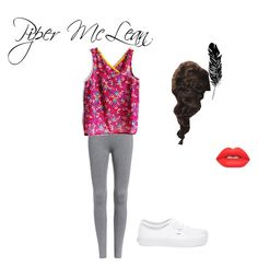 """""""Sem título #7"""" by marcy-728 on Polyvore featuring moda, Vans, Lime Crime e Tattly"""