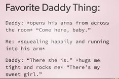 Daddys Girl Quotes, Daddy's Little Girl Quotes, Daddy Quotes, Little Things Quotes, Cute Relationship Goals, Cute Relationships, Dominant Quotes, Flirty Quotes For Him, Space Quotes