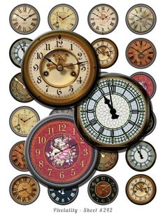 Tick tock you don't stop Big Clocks, Unique Clocks, Cool Clocks, Father Time, Time Stood Still, Telling Time, Ticks, Shabby, All About Time