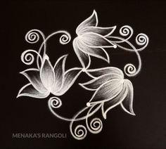 Design Discover Easy And Unique Lotus Rangoli Design Simple Rangoli Border Designs, Indian Rangoli Designs, Rangoli Designs Latest, Rangoli Designs Flower, Free Hand Rangoli Design, Small Rangoli Design, Rangoli Patterns, Rangoli Designs With Dots, Beautiful Rangoli Designs