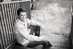 senior boy photography poses | senior boy stairs | Photography: Male Posing Inspiration
