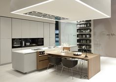 ItaDe.co.uk - Alea kitchen by Varenna Poliform
