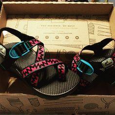 Got my Christmas present #customchacos #chaconation #glowinthedarkchaco…
