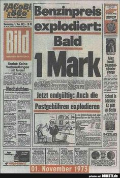 childhood Hach, was waren das fr Zeiten. Good Old Times, The Good Old Days, Political Satire, Retro Humor, Do You Remember, Really Funny, Picture Quotes, True Stories, Newspaper