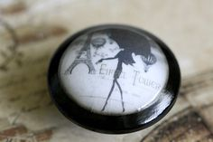 Vintage Knobs A Day In Paris Door Pull by kmadson on Etsy, $6.50