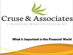What Is Important in the Financial World- Blogtalkradio-http://www.blogtalkradio.com/leonievard/2013/05/02/what-is-important-in-the-financial-world-dailymotion