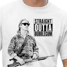 They live straight outta bubblegum tshirt by R2D2Designs on Etsy