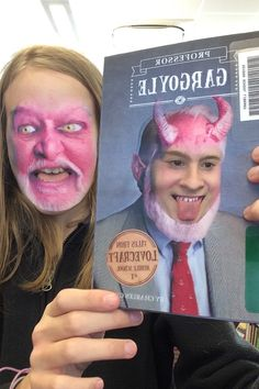 Face Swap with a Book library contest. We encouraged kids to use whatever app they wanted for the swaps: Snapchat, Face Swap Booth, Photoshop, etc. Super fun!