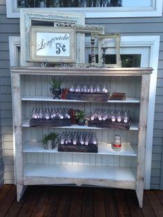 Bridal Bliss Wedding: lemonade for 5 cents!