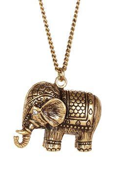 Elephant necklace | jewelry design