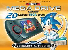 Sega MegaDrive / Genesis Portable  #sega #megadrive #genesis #retro #retrogames