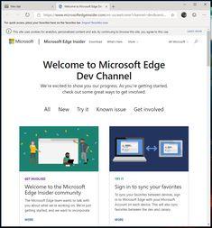 Probiert den neuen Microsoft Edge (Chromium) Browser aus | Jeffs Blog Welt