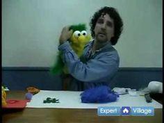 muppet making part 4 / 4 www.puppetsnstuff.com
