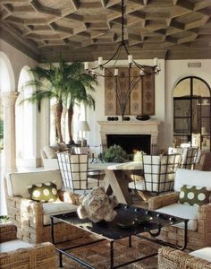 greige: interior design ideas and inspiration for the transitional home : Ceiling details