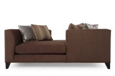 JLO-19081/MOLASSES - Jonathan Louis Two Sided Chaise | Mathis Brothers Furniture