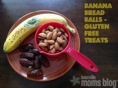Banana Bread Balls | Knoxville Moms Blog, gluten free banana bread balls, gluten free recipes