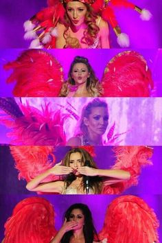 Girls Aloud - ten tour. They were AMAZING last night.