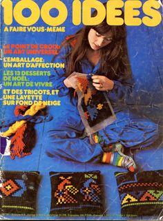 100 idées n° 38 - décembre 1976 - couverture - photo Jean-Pierre Godeaut