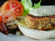Featured Recipe: Naughty But Nice Crab Burger