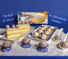 Tartufi+al+cocco+e+cioccolato+bianco