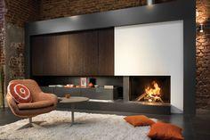 Kal-Fire Heat Pure 100 liftdeurhaard - haard in living