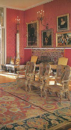 The Titian Room at Isabella Stewart Gardner Museum Boston MA