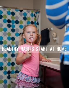 #healthy habits start at home. #pediatric #dentalcare #TAMHSC