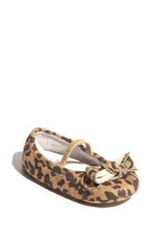 Nordstrom Baby Tessa Bow Flat...leopard print...yes please