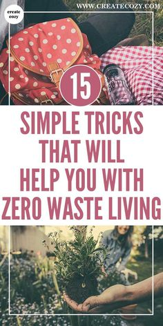 Ideas and tips for zero waste living to help you adopt a zero waste lifestyle so you can reduce the amount of waste you produce, help the environment, and save money along the way. Whether it's a zero waste kitchen or other zero waste tips or products you want, check out this post with an emphasis on simple, everyday changes.